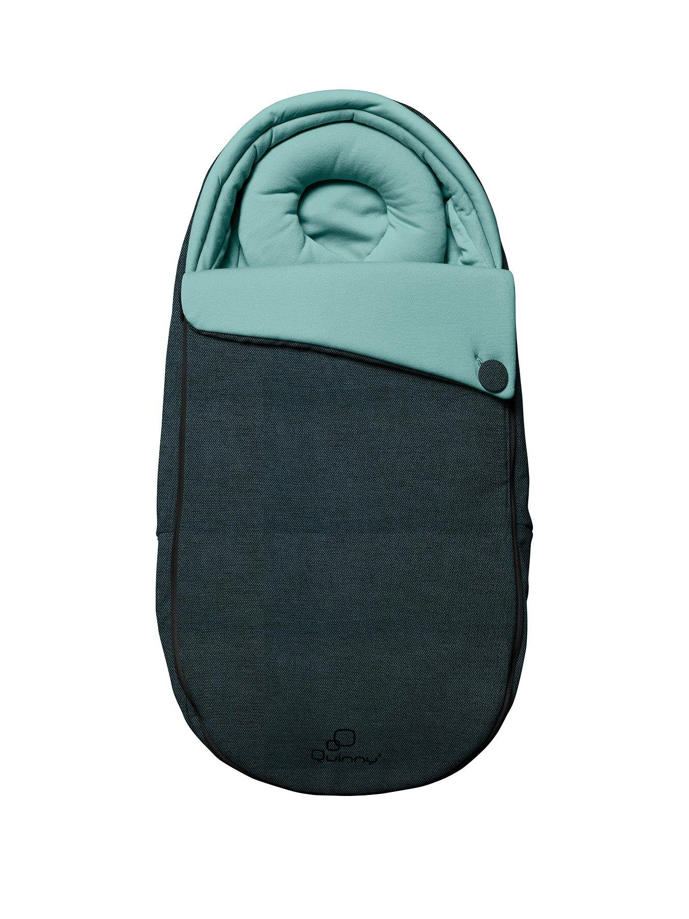 Quinny Quinny Moodd Pushchair, Foldable Carrycot, Pebble Car Seat Package - Novel Nile Quinny  2