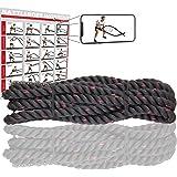 POWER GUIDANCE Cuerda de Batalla Battle Rope - Poliéster ...
