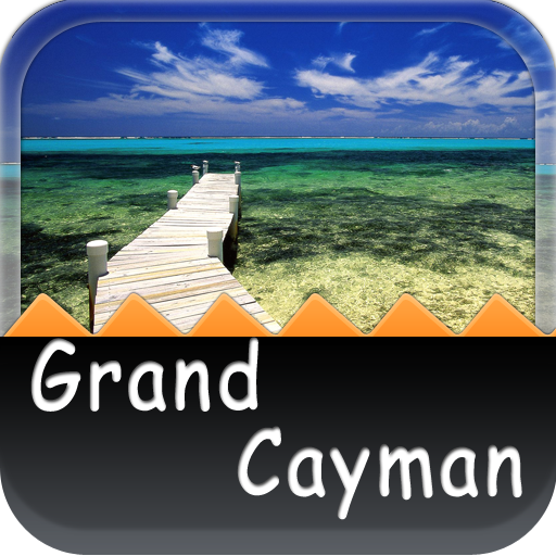 Grand Cayman Island Offline Map Travel Guide (Kindle Tablet Edition) -
