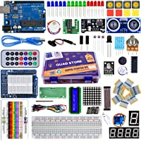 Quad Store Super Starter Kit for Uno R3 compatible with Arduino IDE