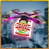 Pizza Delivery Drone Simulator