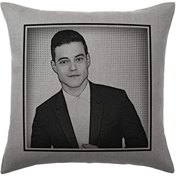 Cover and filling pad 40x40cm Henry Cavill Cushion Pillow Silver Grey 100/% Cotton Available with or without filling pad