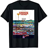 Stranger Things Day Pixel Poster T-Shirt