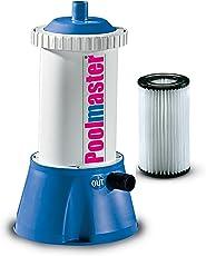 New Plast 0890 - Pompa Filtro a Cartuccia 2,7 m3/h per Piscina