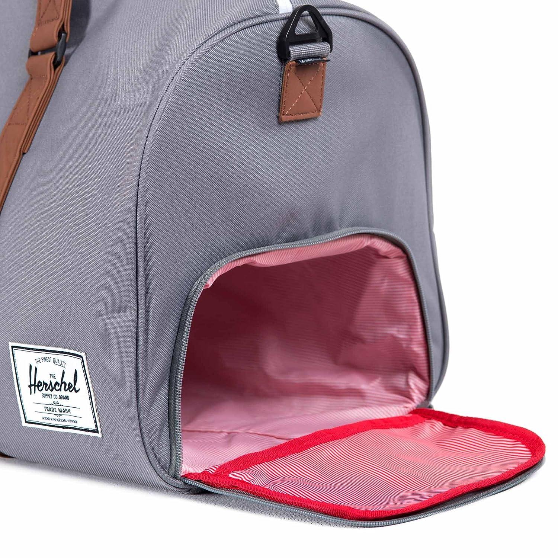 Herschel Supply Co Novel Duffle Bag Holdall Black Amazoncouk Shoes Bags