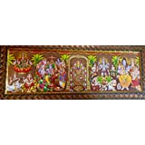 Five in One Gods Photo Frame for Pooja.