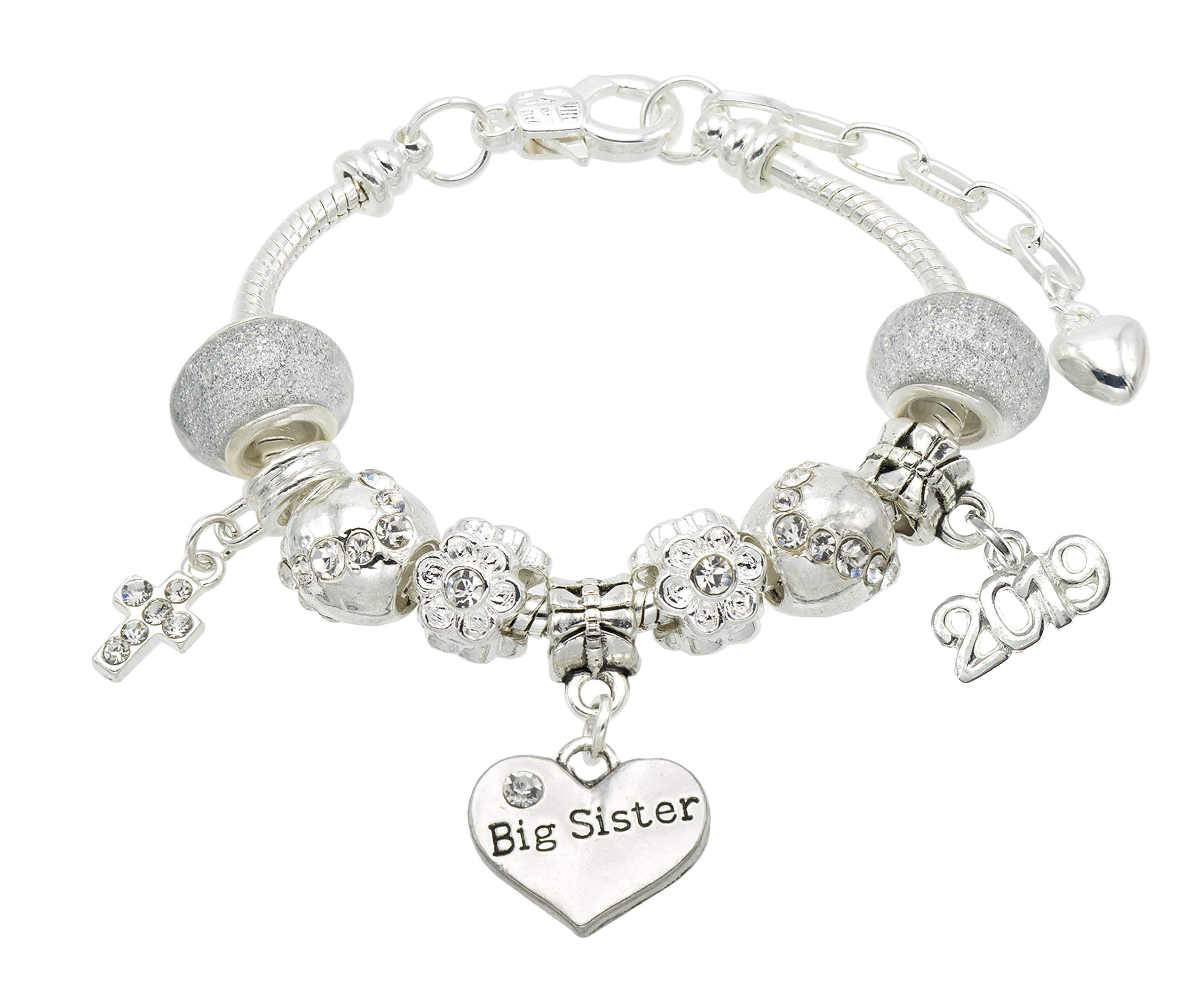 Jewellery Hut First Holy Communion Message Bracelet with Gift Box – 11 Message Options