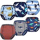 FLYISH DIRECT Cotton Baby Potty Training Pants Strong Absorbent Toddler Training Underwear for Baby Girl and Boy 12M-6T