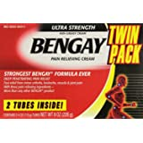 Bengay Ultra Strenght Pain Relieving Cream 226g - (113gX2)