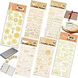 Stickers Deco Vintage Auto Adhésif 6 feuilles Lettres Autocollants 3D Chiffres Papillon Femme Autocollants De Scrapbooking Po