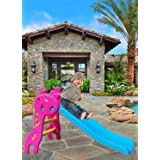 FIRST PLAY Folding Slide for Kids I Plastic Play Slide Climber I Toy Kids Slide for Indoor and Outdoor I Suitable for Boys an