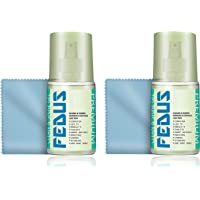 Fedus Pack 2 Screen Cleaner Kit 200 ml with Microfiber Cloth for LED and LCD TV, Computer Monitor, Laptop