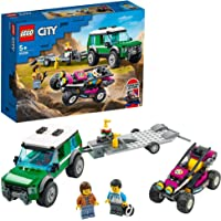 LEGO Race Buggy Transporter Building Blocks for 5 Years and Above