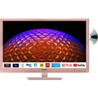 Sharp 1T-C24BE0KR1FR (24BE0KR) 24 Inch HD Ready LED Smart TV with Freeview Play, Built-in…