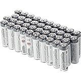 Amazon Basics Lot de 40 piles alcalines AA industrielles