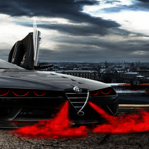 Red Smoke Car Live Wallpaper Amazoncouk Appstore For Android