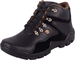 aadi Men's Leather Casual Boots