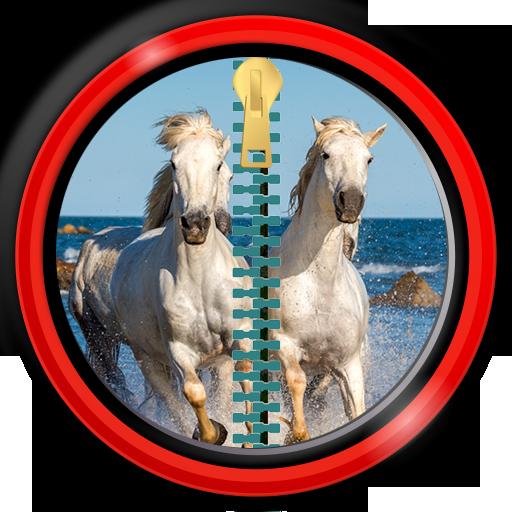 zipper-blocco-schermo-cavalli