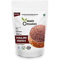 Namo Organics 100% Organic Aliv / Garden Cress / Halim Seeds 400 Gm for Eating and Weight Loss - 400 Gm