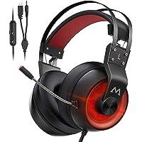 Mpow EG3 Pro Cuffie Gaming,Audio Surround 3D Bass, Cuffie per Computer PS4 Xbox con Microfono con Cancellazione del…