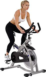 Sunny Health & Fitness Unisex Adult 7100 Asuna Sabre Magnetic Commercial Indoor Cycling Bike - Black, One Size