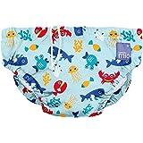 Bambino Mio SWPL DSB Costumino Contenitivo Mutande Contenitive da Nuoto, 1 - 2 Anni, Multicolore (Profondo Blu)