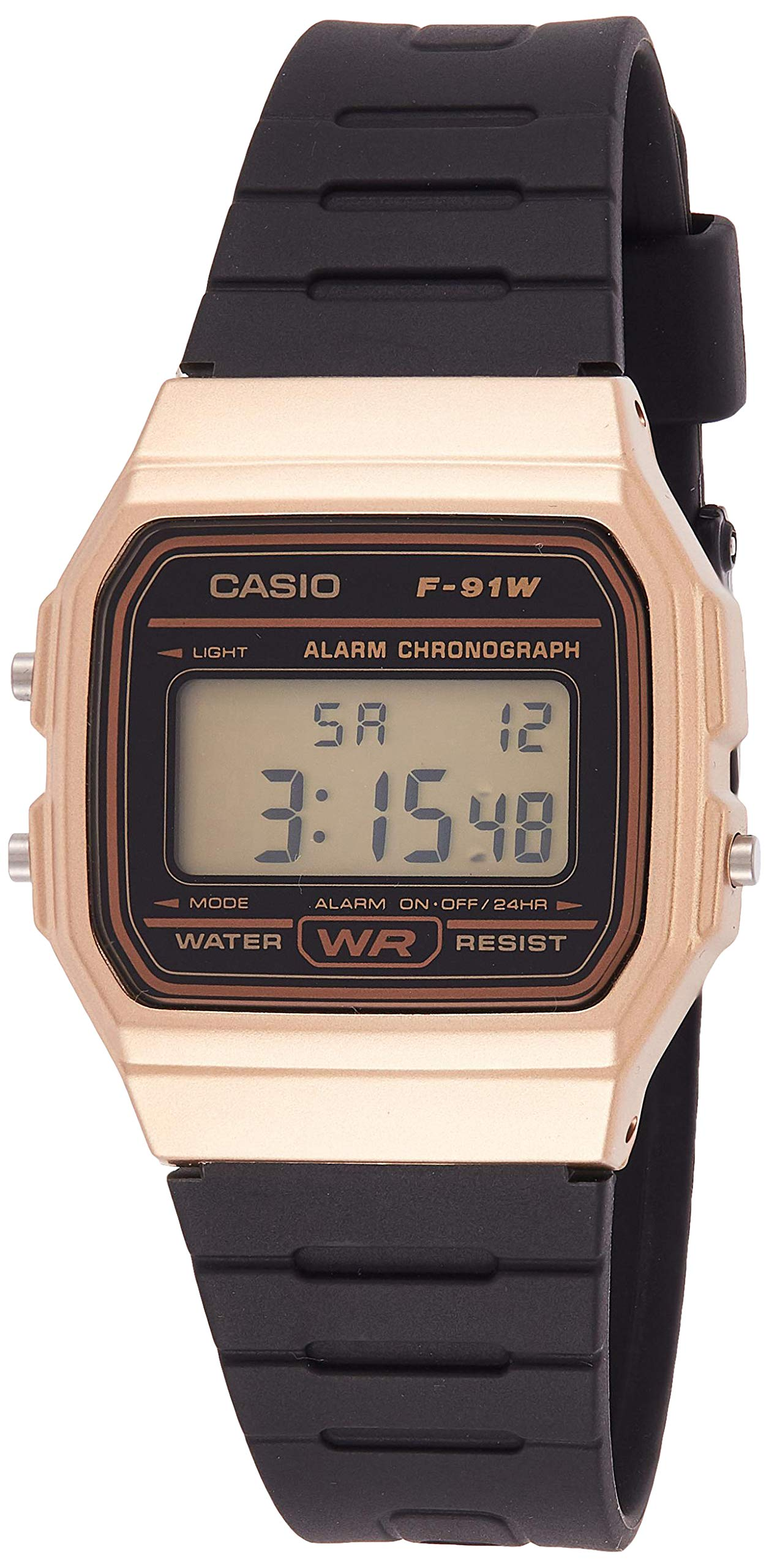 Reloj Casio Digital F-91WM-9ADF Dorado