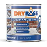 Drybase Vloeibaar vochtbestendig membraan (1 liter, wit) - vloeibare DPM vochtbestendige verf