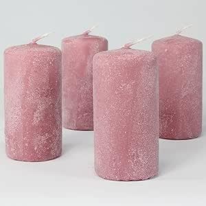 Rosa Kerzen
