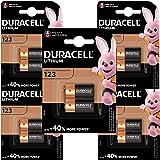 Duracell - Pilas de litio 123 High Power de 6 V, paquete de 10 unidades, CR123 / CR123A / CR17345, diseñadas para su uso en s