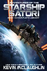Adventures of the Starship Satori: Book 1-6 Complete Library Kindle Edition