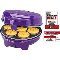 Clatronic DMC3533 Machine à beignets, muffin et gateaux (cake pop) Lila