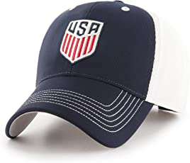 OTS World Cup Soccer United States Adult Unisex World Cup Soccer Sling All-Star MVP Adjustable Hat, One Size, Navy-US Men's Team