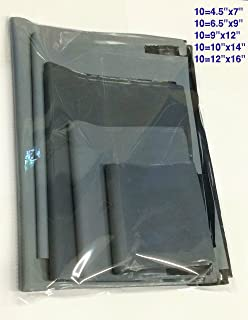 "9 x 12/"" Mixed Grey Sizes 50 Postal Mailing Bags 6.5 x 9/"" 12 x 17/"""