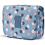 حقيبة أدوات الزينة المحمولة المعلقة حقيبة السفر ماكياج حقيبة منظم للماء متعددة الوظائف حقيبة مستحضرات التجميل للنساء الفتيات