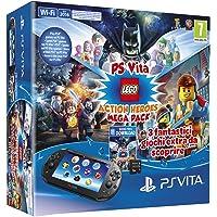 PlayStation Vita 2016 + Mega Pack Lego Heroes + MC 8GB [Bundle]