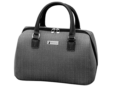 london fog luggage chatham 360 collection 16inch satchel tote grey one size amazoncouk luggage - London Fog Luggage