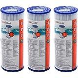 Bestway Lot de cartouches de filtration pour pompe de piscine Intex Taille 2 Pool cartouches taille II