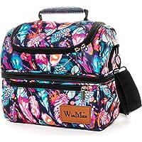 winmax Sac Isotherme Repas Grande Capacité 12L Sac à Déjeuner Portable Lunch Bag Sac Glacière pour Enfant Travail Pique…