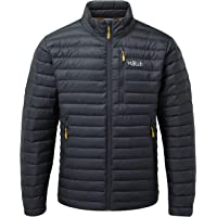 Rab Mens Microlight Jacket, Warm Winter Down Jacket, Windproof, Breathable Casual Light Weight Packable