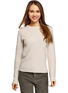 oodji Ultra Womens Pullover with Sequin D/écor
