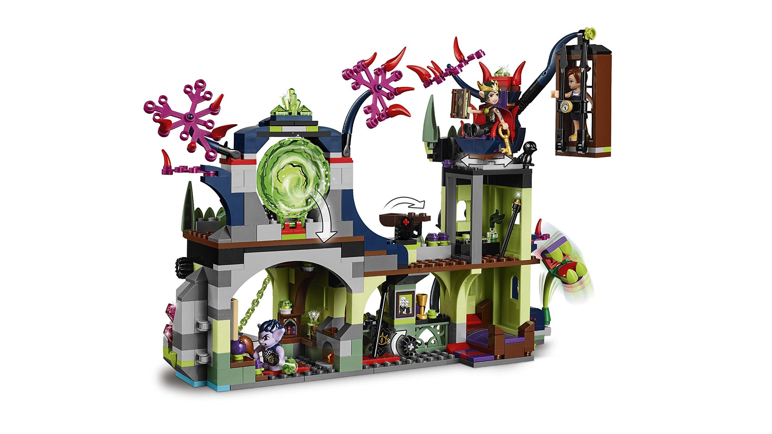 LEGO-Elves Evasione dalla Fortezza del Re dei Goblin Costruzioni Piccole Gioco Bambino, Multicolore, 804709 5 spesavip