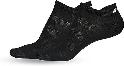Nivia 8803 Low Cut Cotton Sports Socks, Free Size Pack of 3 (Black)