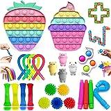 ENVEE Fidget Toys, Fidget Toys Pack for Soulager Le Stress et l'anxiété, Jouet Anti Stress Enfant, Fidget Toy Simple Anti Str