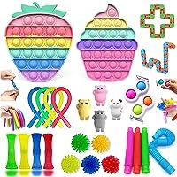 Fidget Toy, Simple Fidget Toy Anti Stress Spielzeug Set, Fidget Toy Set Box für Stress und Angst Abbauen, Anti Stress…