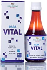 Para Canine Vital Syp Essential Amino Acids and Vitamins with Dha (200 Ml)