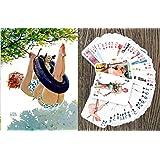 Koshizu KAWAII NEKO Anime Playing Cards Cute Neko Catgirl Japan Manga Anime poker deck 54 cards all different