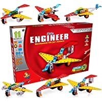 Nabhya Engineer Mechanical Kit - Aircraft-Set - Educational Toy Building Blocks Construction Set for Junior Educational…