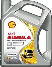 Shell Rimula R4 15W-40 API CI4+ Premium Mineral Engine Oil (5 L)