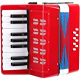 Classic Cantabile Bambino Accordéon enfants, rouges, 8 basses